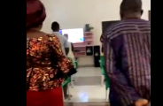 Nigerian mother makes her family dress up for 'church service' in their home (video) 28