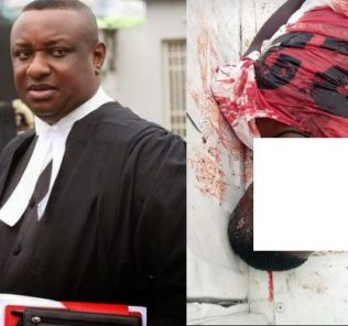 I unreservedly condemn this barbaric act by men of the armed forces - Festus Keyamo reacts to killing of young man by soldiers enforcing lockdown order in Delta 45