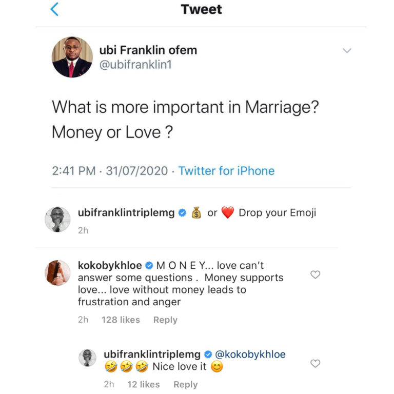 """""""Love without money leads to frustration and anger"""" – BBNaija Khloe says 2"""