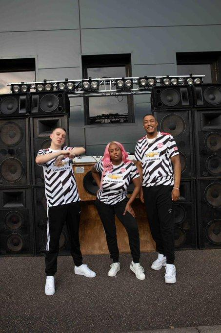 DJ Cuppy gets featured in Manchester United's new jersey campaign (Photos/Video) 2