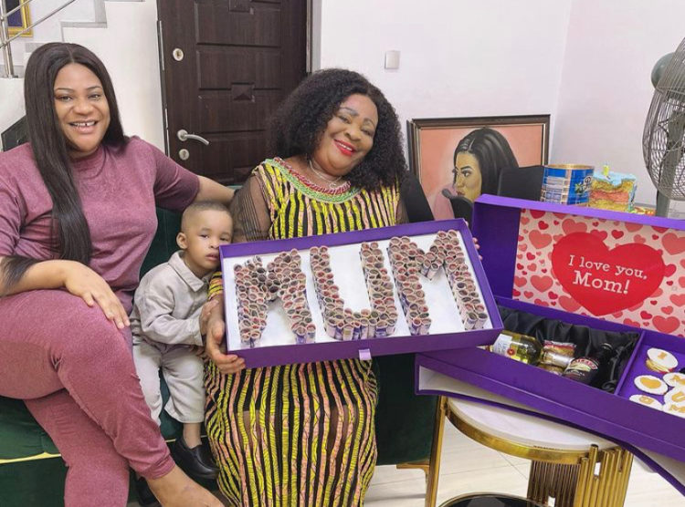 Blessing in The Johnsons TV series celebrates birthday